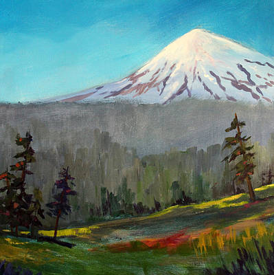 Painting - Looking North by Nancy Merkle