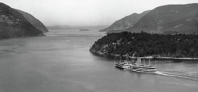 Photograph - Looking North Through the Hudson Highlands, 1907. by The Hudson Valley
