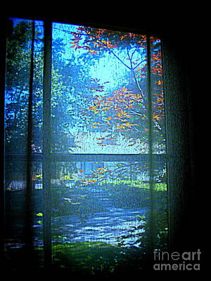 Digital Art - Looking Out by Nancy Kane Chapman