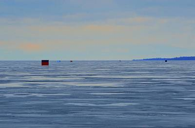 Digital Art - Looking Out On The Ice  by Lyle Crump