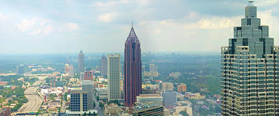Looking Out Over Atlanta Print by Mike McGlothlen