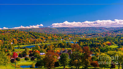 Photograph - Looking Out Over Quechee by Scenic Vermont Photography