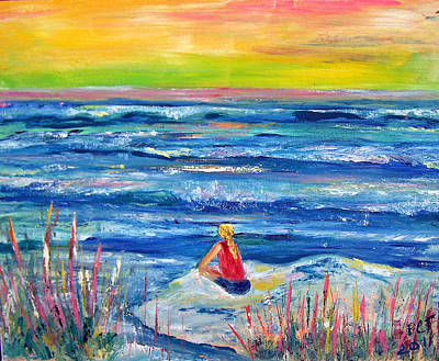 Painting - Looking Out by Patricia Taylor