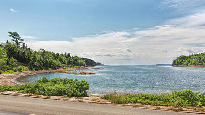 Photograph - Looking Out To Sea by John M Bailey