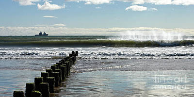 Photograph - Looking Out To Sea by Liz Alderdice