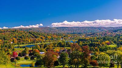 Photograph - Looking Out Towards Quechee. by New England Photography