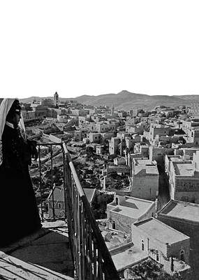 Photograph - Looking Over Old Bethlehem by Munir Alawi