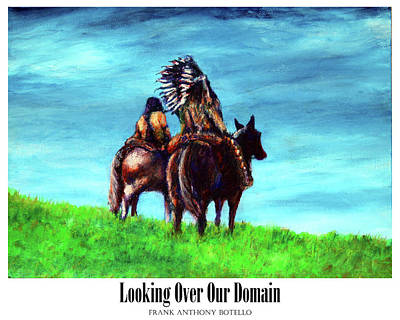Painting - Looking Over Our Domain II by Frank Botello