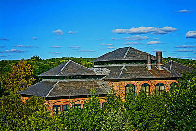 Photograph - Looking Over Phoenixville by Michael Porchik