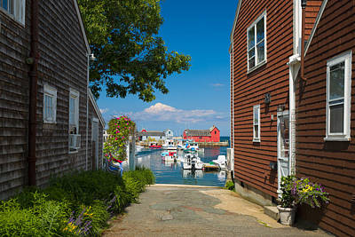 Looking Rockport Art Print