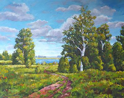 Painting - Looking Skyward by Ingrid Dohm