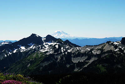 Photograph - Looking South At Mount Adams by Edward Hawkins II