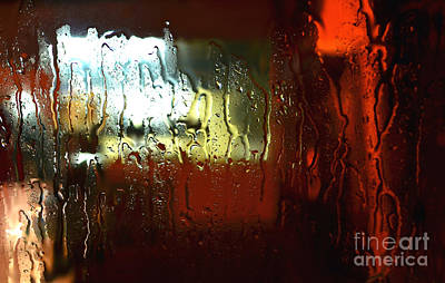 Photograph - Looking Out The Raining Window Number 2  by Christopher Shellhammer