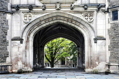 Photograph - Looking Through A Grand Arch by Dave Mills