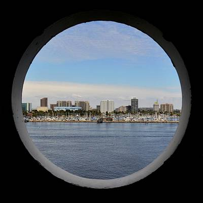 Aqua Condominiums Photograph - Looking Through The Queen's Porthole by KJ Swan