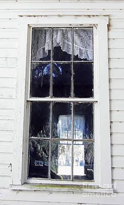 Photograph - Looking Through The Windows by D Hackett