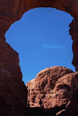 Photograph - Looking Through Turret Arch by John M Bailey