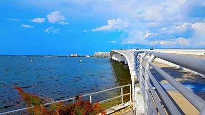 Bridge Photograph - Looking Toward by Ric Schafer