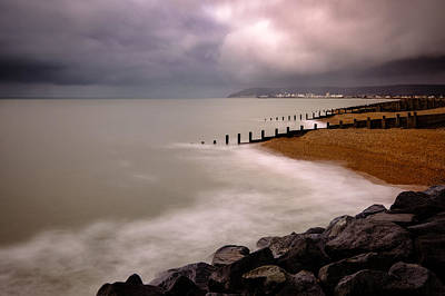 Photograph - Looking Towards Eastbourne by Will Gudgeon