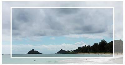 Photograph - Looking Towards Lanikai Beach by Carolyn Ricks