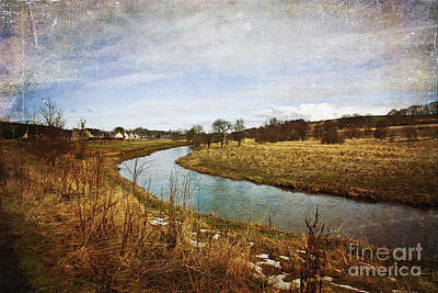 Photograph - Looking Towards Methlick by Liz Alderdice