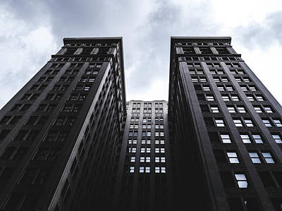 Photograph - Looking Up At Building In St. Louis by Dylan Murphy