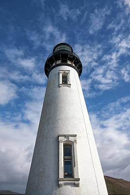 Photograph - Looking Up At The Lighthouse by Mary Jo Allen