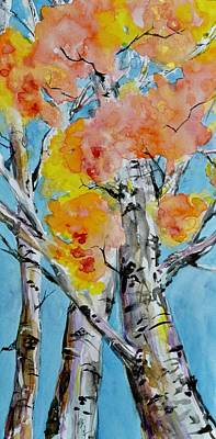 Painting - Looking Up by Beverley Harper Tinsley
