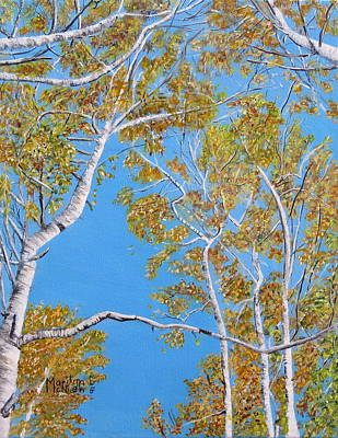 Painting - Looking Up by Marilyn McNish