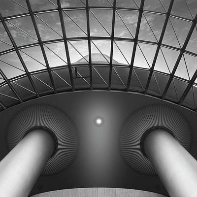 Looking Up Print by Mike McGlothlen
