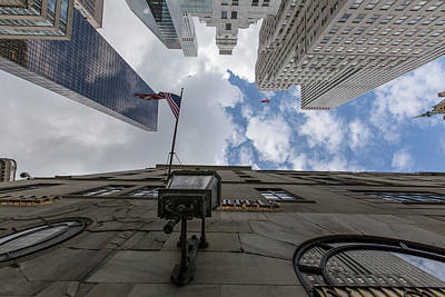 5th Ave Photograph - Looking Up Nyc 5th Ave by John McGraw