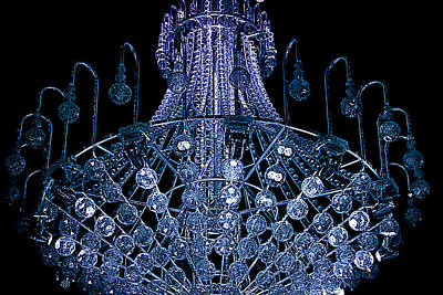 Photograph - Looking Up The 9 Metre Tall Chandelier by Miroslava Jurcik