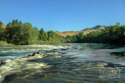 Photograph - Looking Up The Payette by Robert Bales