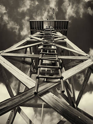 Photograph - Looking Up The Windmill by Charles McKelroy