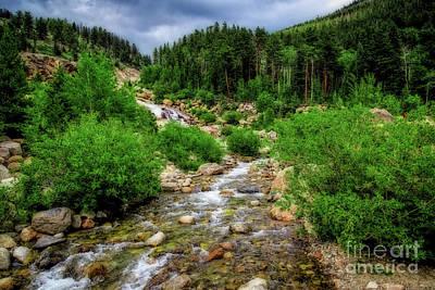 Photograph - Looking Upstream by Jon Burch Photography