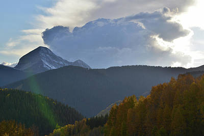 Photograph - Looking West From Molas Pass by Ray Mathis