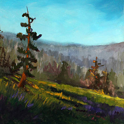 Painting - Looking West by Nancy Merkle