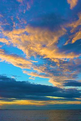 Photograph - Looking West Over The Atlantic by Polly Castor