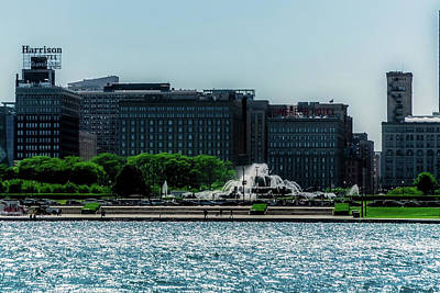 Science Collection Rights Managed Images - Looking west toward Buckingham Fountain Royalty-Free Image by Sven Brogren