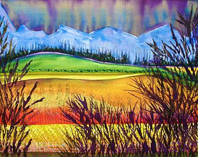 Painting - Looking Westward by Polly Castor