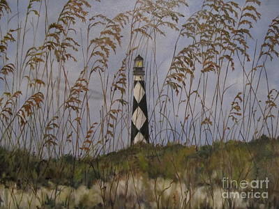 Painting - Lookout Lighthouse, Nc by Karen Olson