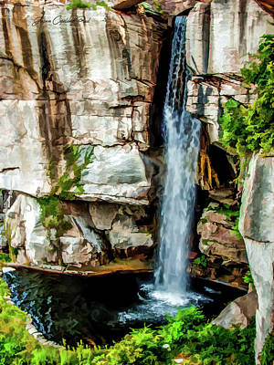 Photograph - Lookout Mountain Waterfall by Joann Copeland-Paul