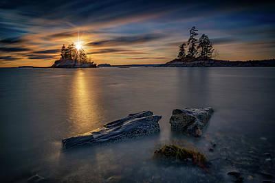 Photograph - Lookout Point Golden Hour by Rick Berk