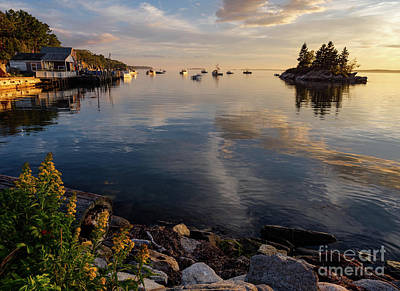 Lookout Point, Harpswell, Maine  -99044-990477 Art Print