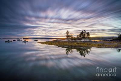 Photograph - Lookout Point Long Exposure by Benjamin Williamson