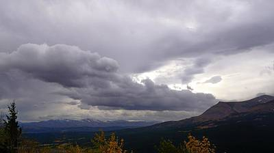 Photograph - Lookout Point On A Stormy Autumn Day by Tracey Vivar