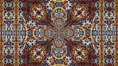 Photograph - Looks Like A Persian Rug by Lori Kingston