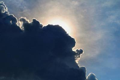 Photograph - Looming Cumulus by Kathryn Meyer