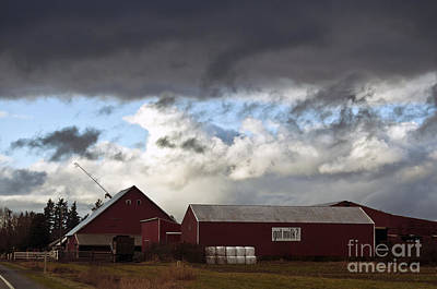 Photograph - Looming Storm In Sumas Washington by Clayton Bruster