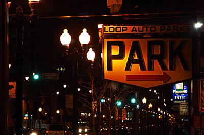 Photograph - Loop Auto Park by Jame Hayes
